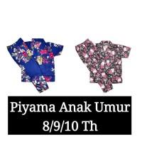 Piyama Anak CP Best Seller size 10 Umur 8/9/10 th