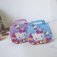 Anak Perempuan Tas Handbag / Selempang Motif Hello Kitty untuk