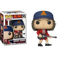 Funko POP! Rocks AC/DC - Angus Young with Red Jacket