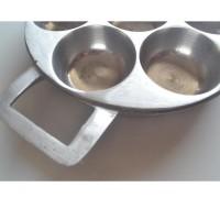 Rosita Cetakan Kue Carabikang Martabak Mini Lumpur Bika Ambon 7cm