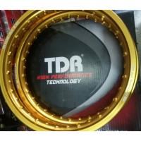 VELG TDR W - SHAPE RING 14 BIRU (2Pcs/Sepasang)