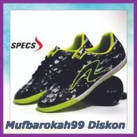 Ready Sepatu Futsal Pria Specs Barricada Ultima Hitam Hijau