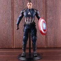 Action Figure Captain America 3 Bahan PVC untuk Koleksi