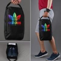 hoot sale Tas Sepatu Bola atau sepatu futsal Grade Ori Adidas Rainbow