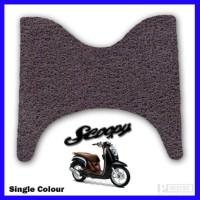 PRESTIGE - KARPET MOTOR - HONDA - SCOOPY - SINGLE COLOUR - COIL MAT