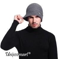 Beanie Pada Topi Kupluk Dewasa Knitted Hat Bahan Rajut Tebal Fashion