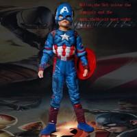 Kostum CAPTAIN AMERICA Avengers baju anak laki lelaki cosplay ultah