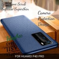 ORIGINAL HUAWEI P40 PRO SOFTCASE SANDSTONE SILIKON CASE SUPERTHIN