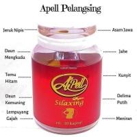 Apell Super Pelangsing tubuh alami herbal ORIGINAL jamu kualitas SUPER