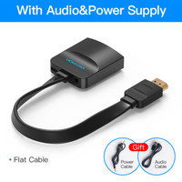 Vention ACK- Adapter Converter HDMI to VGA with Audio & Power