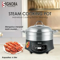 Steam Cooking Pot Signora READY