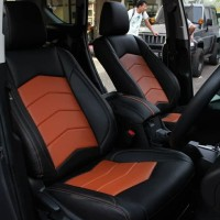 Sarung Jok Mobil TOYOTA AVANZA Bahan MYO LEATHER Otomotifku Terbaik