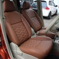 Sarung Jok Mobil TOYOTA RUSH Bahan MYO LEATHER Otomotifku Terbaik ORI