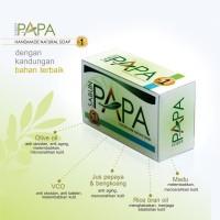 Sabun PAPA No.1 Sabun Pepaya Pemutih Pencerah Wajah Muka Badan BPOM