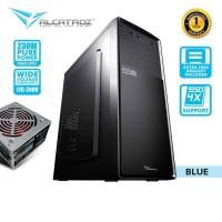 Alcatroz Futura Black N1000 ATX Performance PC Case with 450 Watts PSU