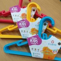 Claris Kids Hanger 0150-6 (Set 6 Pc) / Gantungan Baju Anak