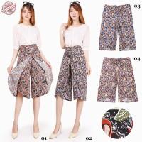 SB Collection Celana Pendek Nabilla Kulot Batik Wanita