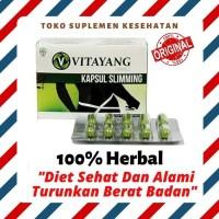 Obat Diet Penurun Berat Badan Herbal Vitayang Slimming Capsule 30 caps