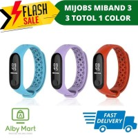 MiBand 3 MIJOBS SPORT Silicone Strap Case Totol Single Color Plain