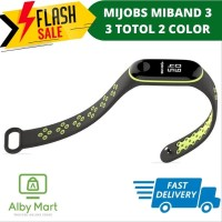 MiBand 3 MIJOBS SPORT Silicone Strap Case Totol Dual Colour