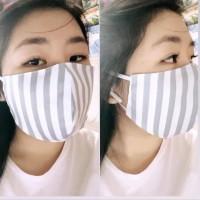 Masker kain Katun Jepang - 2ply Tidak Tembus Tiup Api - Bahan Halussss