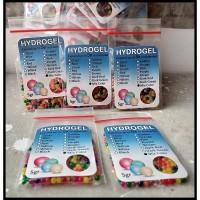 Hydrogel (Hidrogel) Kering - Media Tanam - isi sekitar 200 butir - 5gr