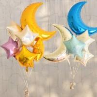 Balon Foil Bulan / Moon / Bulan Sabit