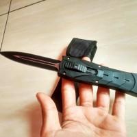 pisau survival slide otomatis