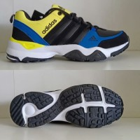 Sepatu Adidas AX2 Import Hitam Kuning Biru Putih