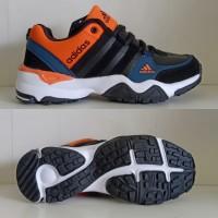 Sepatu Adidas AX2 Import Hitam Orange Biru Putih