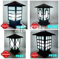 TERMURAAAH lampu hias pilar taman pk(pilar kecil)