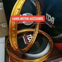 Velg TDR W Shape Kotak Ring 17 X 140 - 160 Set Gold Harga Sepasang