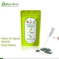 BEST SELLER MASKER Wajah PREMIUM - Spirulina NEOALGAE