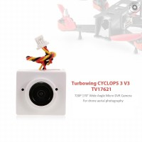 G&M Turbowing CYCLOPS 3 V3 TV17621 720P 170° Wide Angle Micro DVR