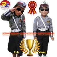 Baju Polwan Anak /Seragam Polwan Anak/ Polisi Wanita Cilik