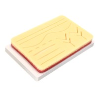 O EASY Suture Training Kit Medical Silicone Suturing Practice Pad