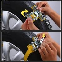 Rantai Ban Mobil Anti Slip untuk Mobil / Truk / SUV / Musim Dingin