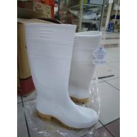 Sepatu AP BOOT PUTIH Tinggi