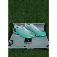 Sepatu Bola Anak Nike Mercurial CR7 Blue AG