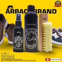 3 In 1 Arback Premium Shoe Cleaner - Pembersih Sepatu Arback 250