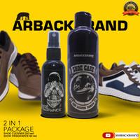 Paket 2 In 1 Pembersih Sepatu Arback - 2 In 1 Arback Shoe Cleaner 250