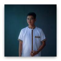 baju koko tapis lampung putih
