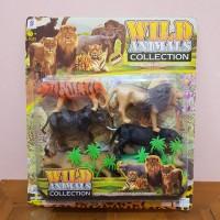 Mainan Set Hewan Animal Wild - Mainan Hewan Kebun Binatang