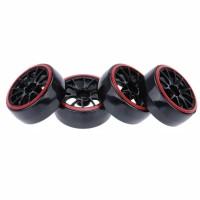 D01 RC drift tires, ban RC velg 1:10
