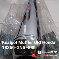 Knalpot Muffler Original Honda GN5 Astrea Grand Immpresa Legenda Bulus