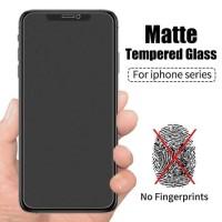 ANTI GORES TEMPERED GLASS MATTE GLARE ANTI FINGER IPHONE X XS 11 PRO