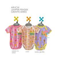 ARUCHI Jumper Bayi - Baju Kodok Segitiga Motif Size SML (3-12 Bulan)