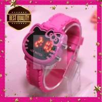 Jam Tangan Digital Anak Motif Hello Kitty Best Seller!