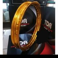Velg TDR W Shape 185 ring 17 gold