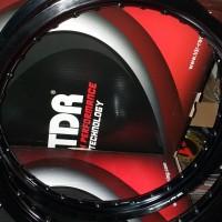 Velg TDR W Shape Set 160/185 ring 17 black